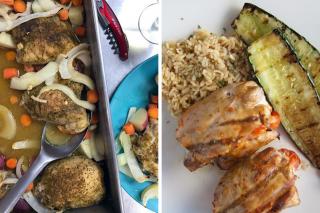 Chicken recipe options