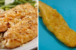 Fish recipe options