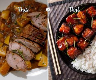 Weekly meal plan, Saturday options