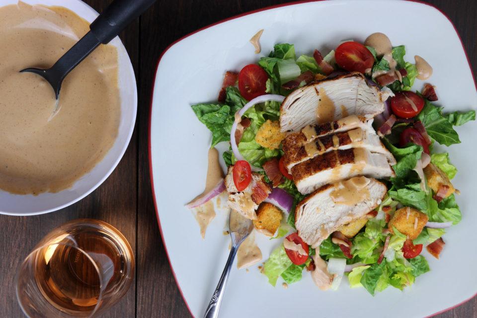 BBQ Chicken BLT Salad