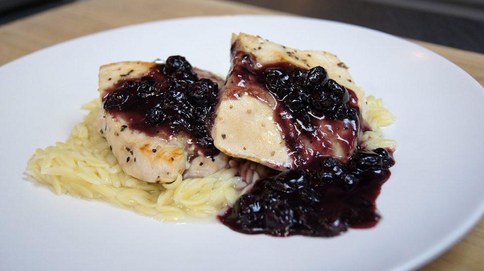 Blueberry Dijon Chicken Breast Cutlets