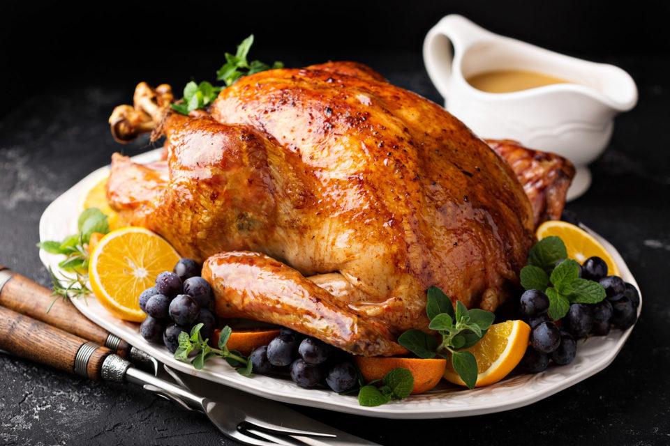 Garlic Herb Butter Basted Turkey Recipe
