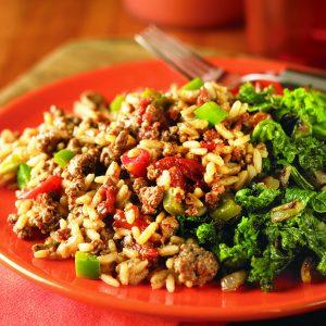 Cajun Rice and Beef