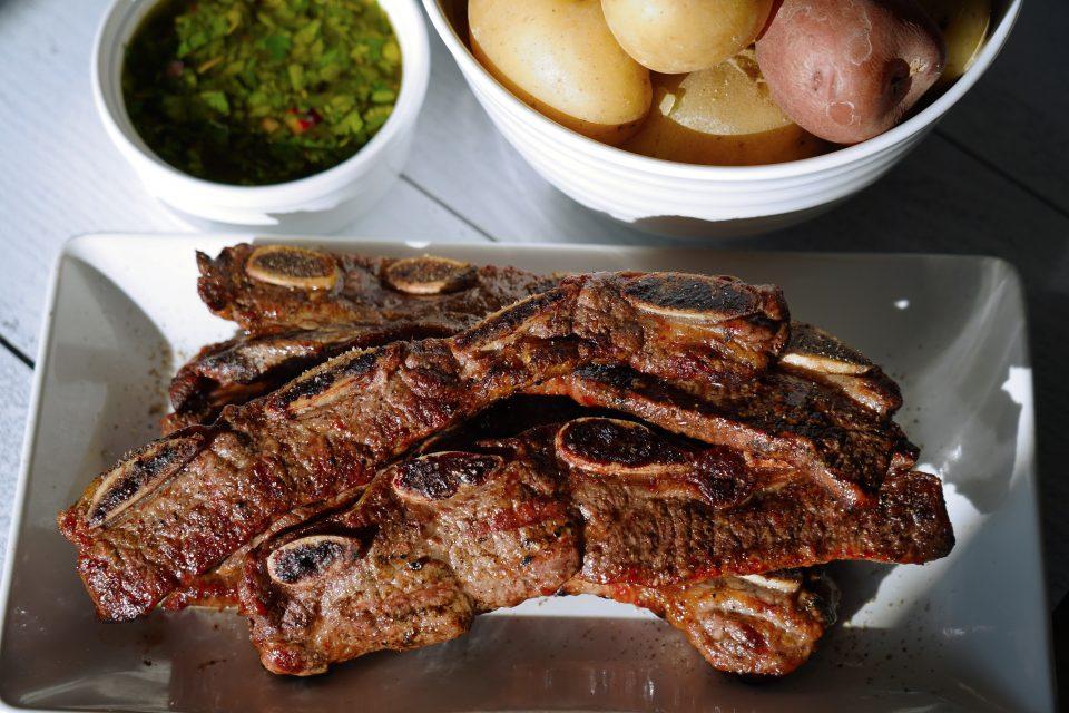 Chimichurri BBQ Short Ribs