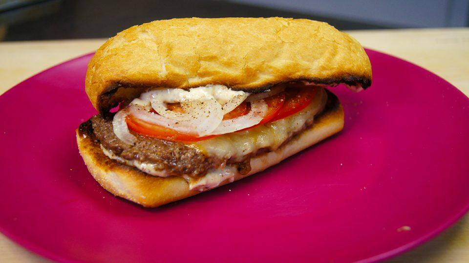 Fried Steak Sandwich With Spicy Mayo Recipe