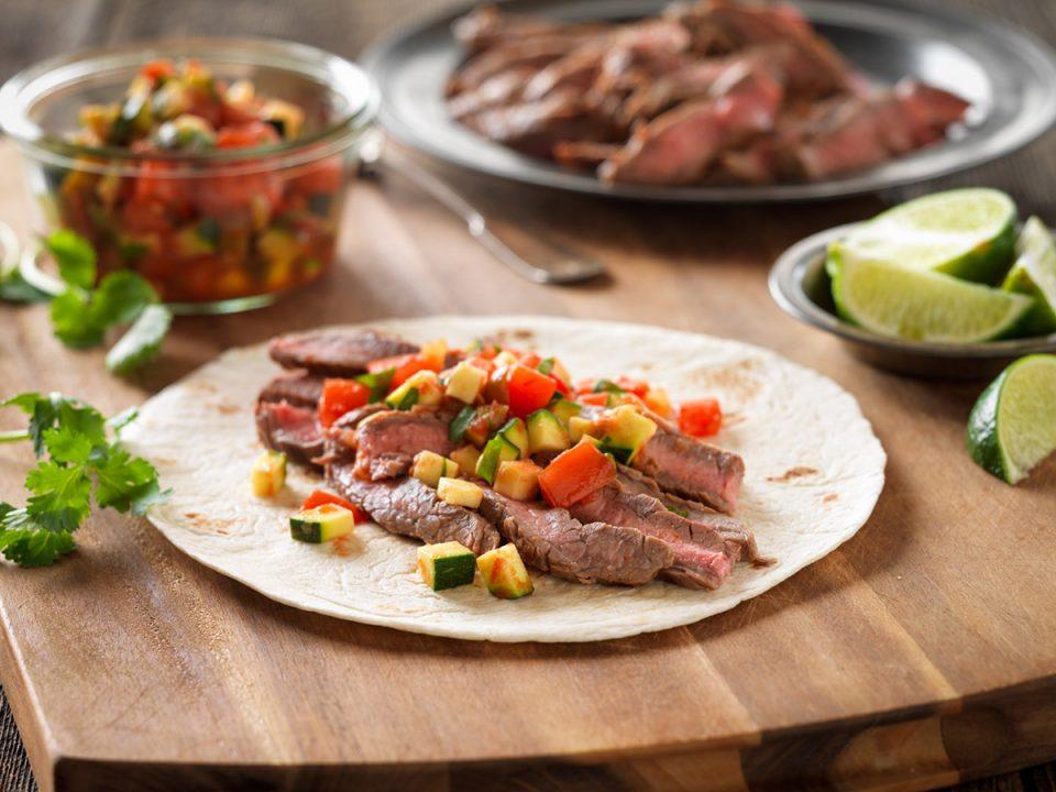 Flank Steak Fajita Meat