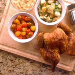 Garam Masala Spatchcock Chicken