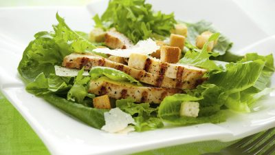 Grilled Lemon Pepper Chicken Salad