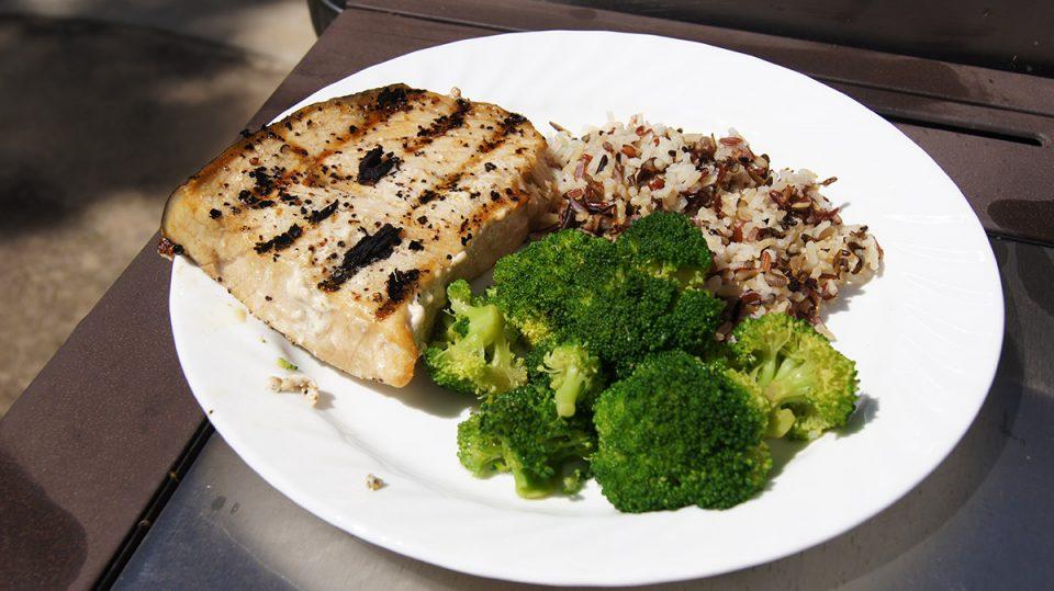Grilled Swordfish