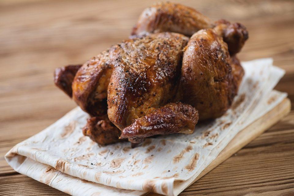 Herb Smoked Chicken