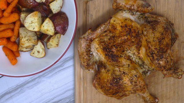 Herbes de Provence Roast Chicken