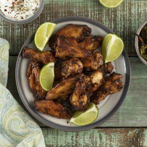Hot Cajun Chicken Wings