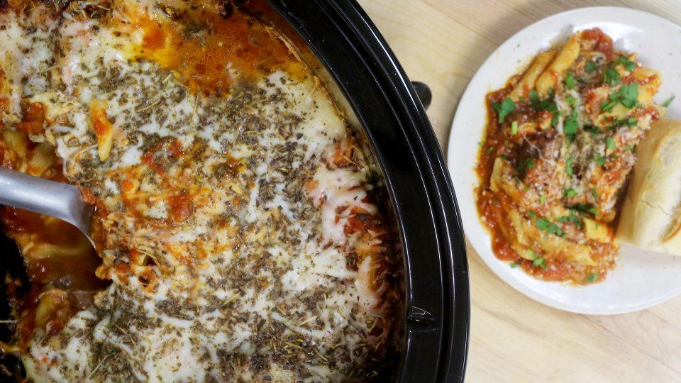 Slow Cooker Italian Beef & Noodles