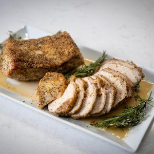 Herb Crusted Pork Loin Roast Recipe