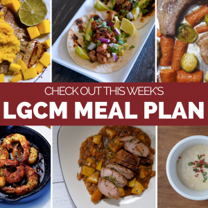 Weekly Meal Plan   December 14 – 20, 2020