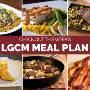 Weekly Meal Plan | October 12 – 18, 2020