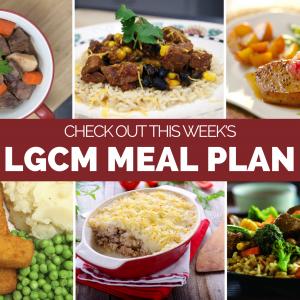 Weekly Meal Plan | October 19 – 25, 2020