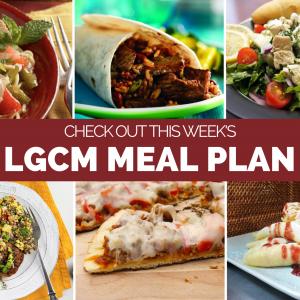Weekly Meal Plan   December 7 – 13, 2020