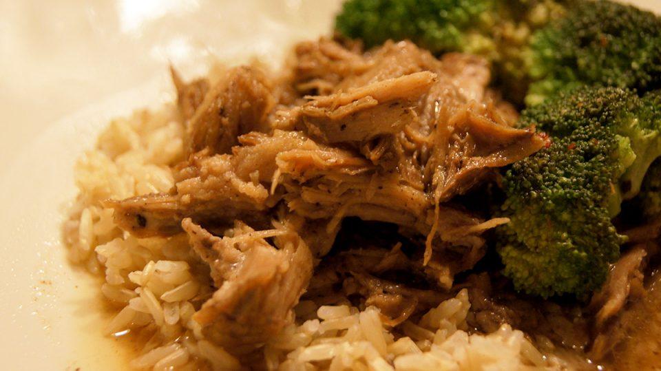 Slow Cooker Balsamic Pork Roast