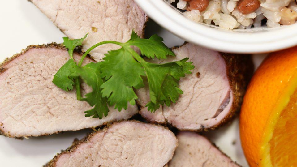 Sazón Pork Tenderloin
