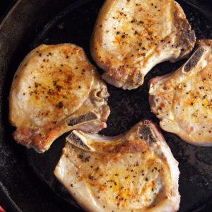 Rioja-style Pork Chops