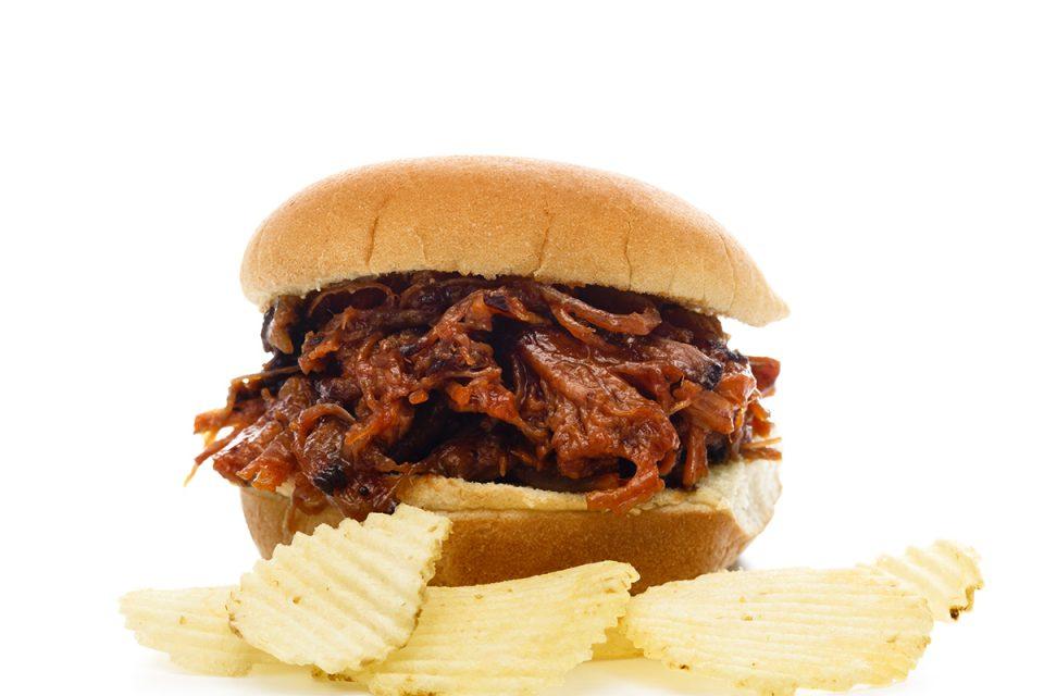 Shredded BBQ Beef Sandwich