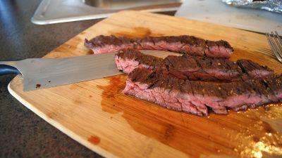 Hot Grilled Skirt Steak