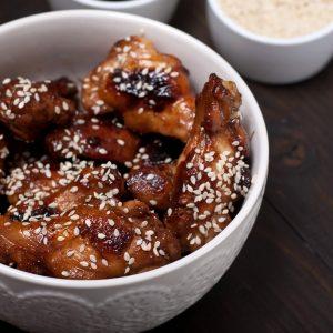 Slow Cooker Teriyaki Chicken Wings