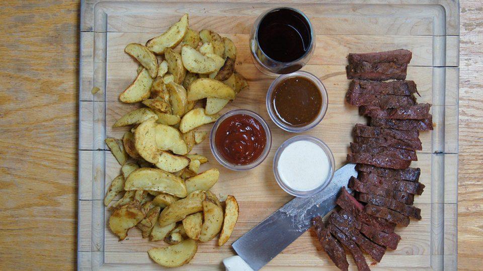 Steakhouse Flat Iron Steaks