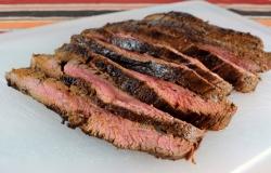 Steakhouse Marinated Flank Steak