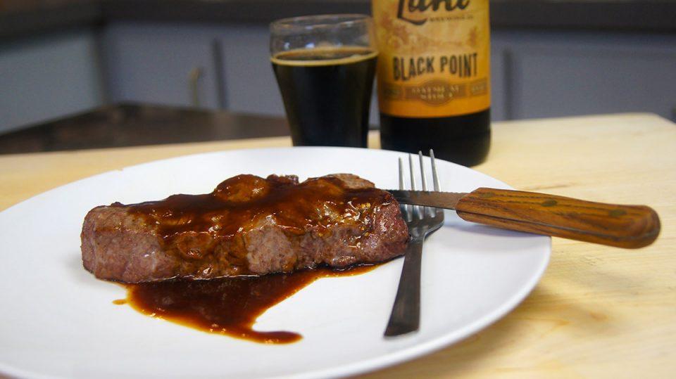 Stout Beer Steak Sauce