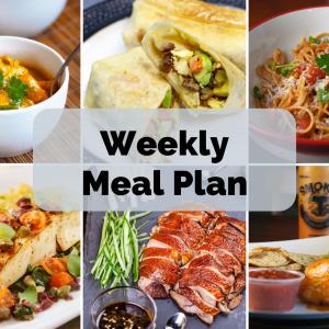 Weekly Meal Plan | January 12, 2020