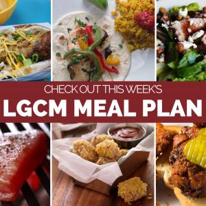 Weekly Meal Plan | April 27 – May 3, 2020
