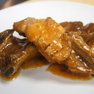Sweet Honey & Orange Country Style Rib Recipe