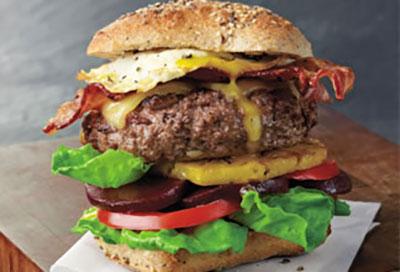 The Great Australian Lamb Burger