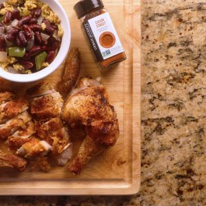 Cajun Spatchcock Chicken