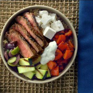 Greek Steak Bowls