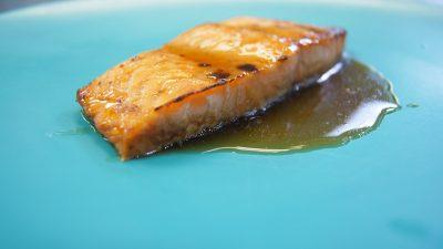 Guinness Glazed Salmon