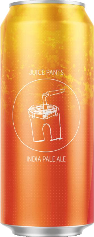 can of juice pants ipa beer