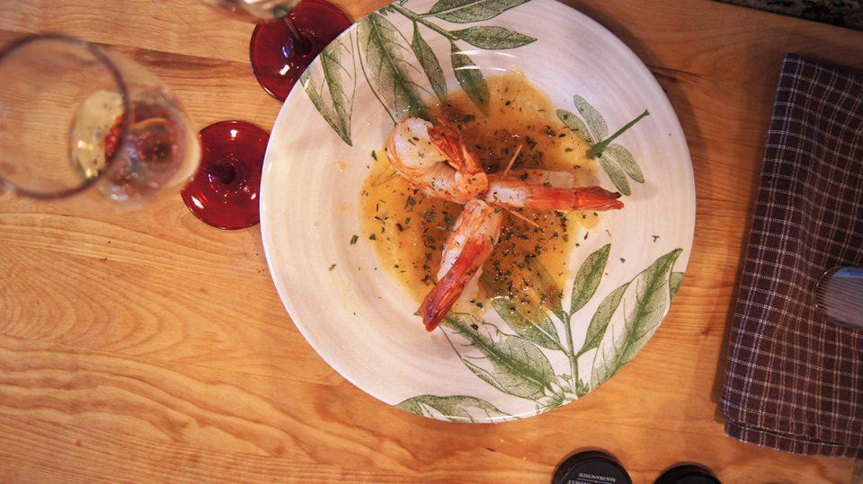 Champagne Shrimp