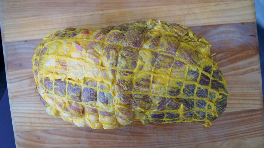 Pork Shoulder with Mustard