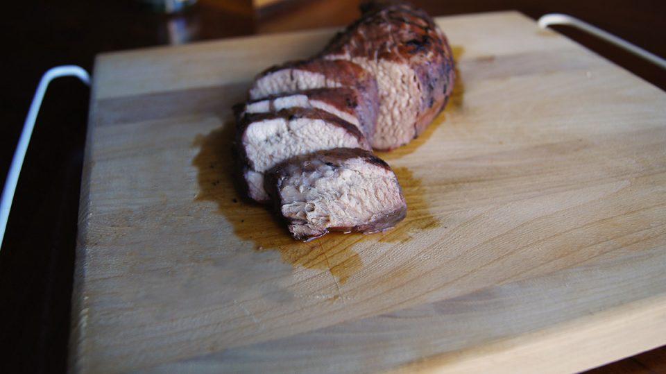 Pork Tenderloin with Balsamic Fig Sauce