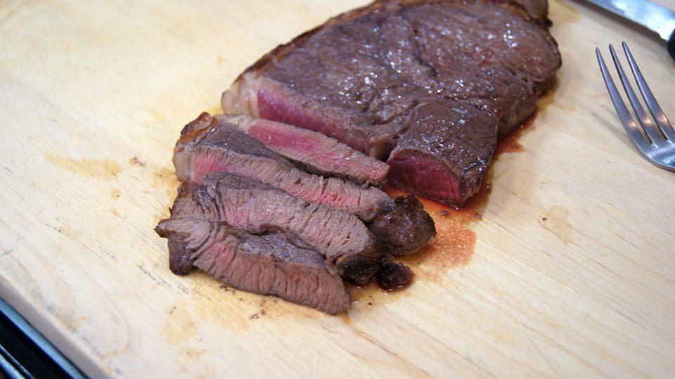 Top Butt Steak Marinated in Red Wine