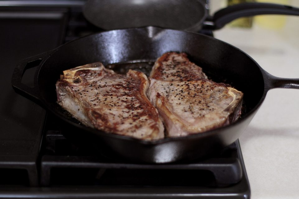 Pan Seared Steak Cooking Instructions