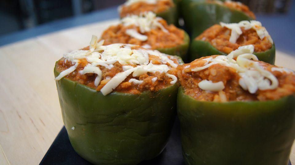 LGCM Stuffed Peppers Recipe
