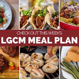 Weekly Meal Plan   July 27 – August 2, 2020